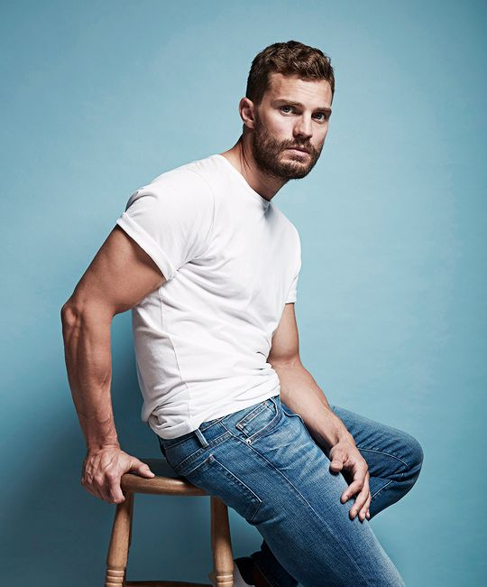 Jamie Dornan photographed by Jude Edginton for The Times (2016)