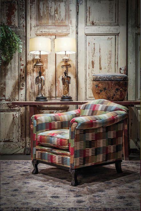 17 beste afbeeldingen over banken en fauteuils op pinterest modellen tropisch en teen - Scheiden een kamer door een gordijn ...