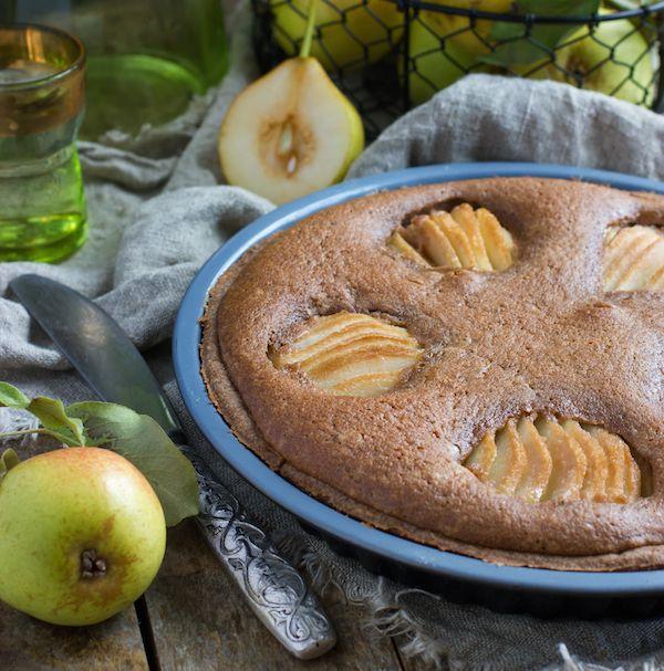 Recette Tarte poires et crème de marrons / Recipe : pear and chestnut cream pie