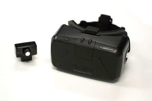 Oculus Rift Dev Kit 2 now on sale for $350 | This is a significant upgrade from the dev kit 1. Now running at 1080p instead of the previous model's 240p, this sucka packs a punch but still is not quite at commercial quality.