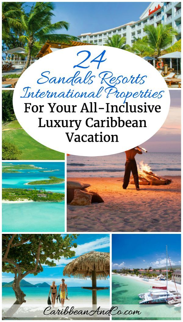 Looking to travel to the Caribbean for an all-inclusive luxury beach vacation? Look no further than Sandals Resorts International with 24 hotel properties under 5 brands across 7 Caribbean destinations.