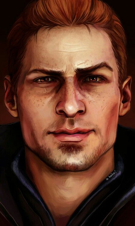 Another dragon age artwork that I absolutely love. It's Alistair by http://knight-enchanter.tumblr.com/ Good lord,I love him
