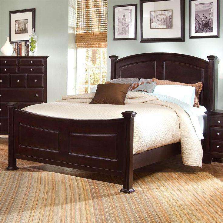 vaughan bassett full panels bedrooms sets california king panels beds