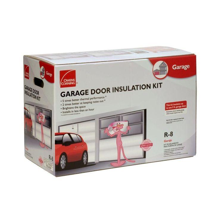 Owens Corning Garage Door Insulation Kit (8 Panels)-GD01 - The Home Depot