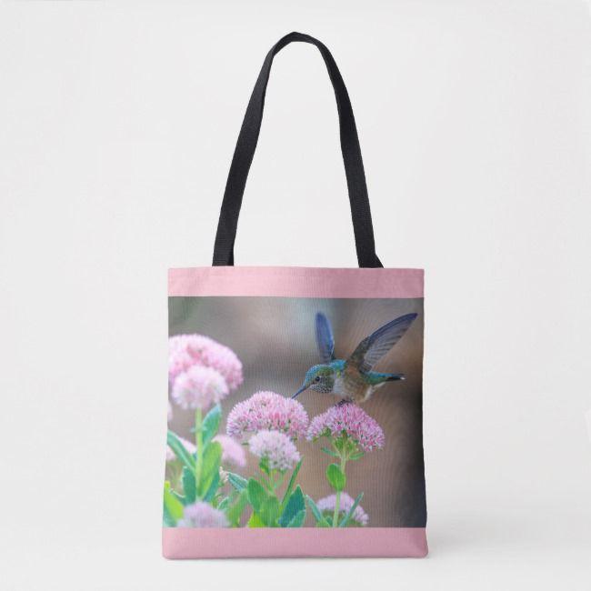 Tote bag Among the Flowers