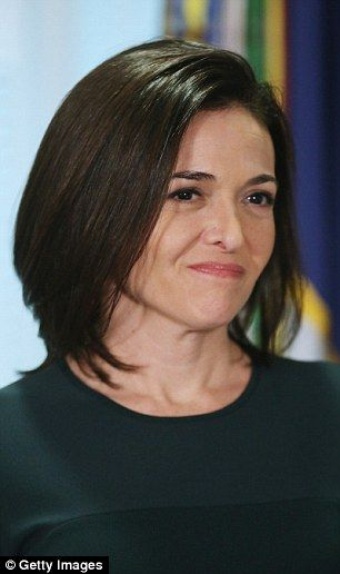 Time of need: Facebook COO Sheryl Sandberg (pictured), 46, revealed that Serena Williams w...