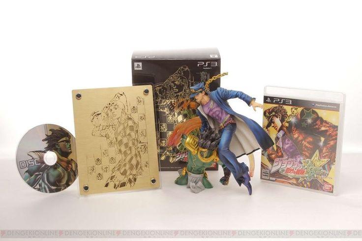 SONY PS3 (Japan Ver.) JoJo's Bizarre Adventure All Star Battle Limited Gold Box