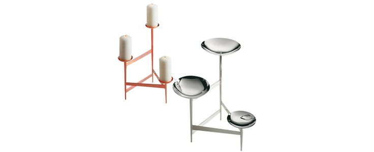 CAPPELLINI - Objects and candle holders  by Tom Dixon