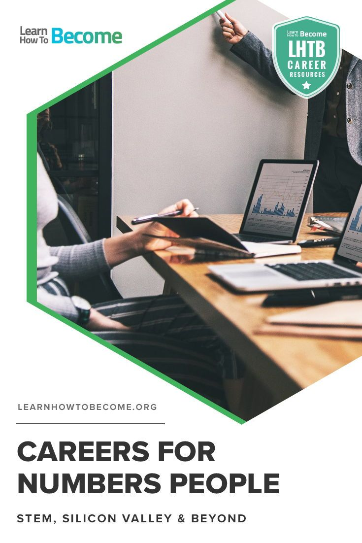 Not All Careers That Involve Numbers Are The Same In Fact Many Differ Greatly And Attract A Wide Range Of People Career Resources Career Career Advancement