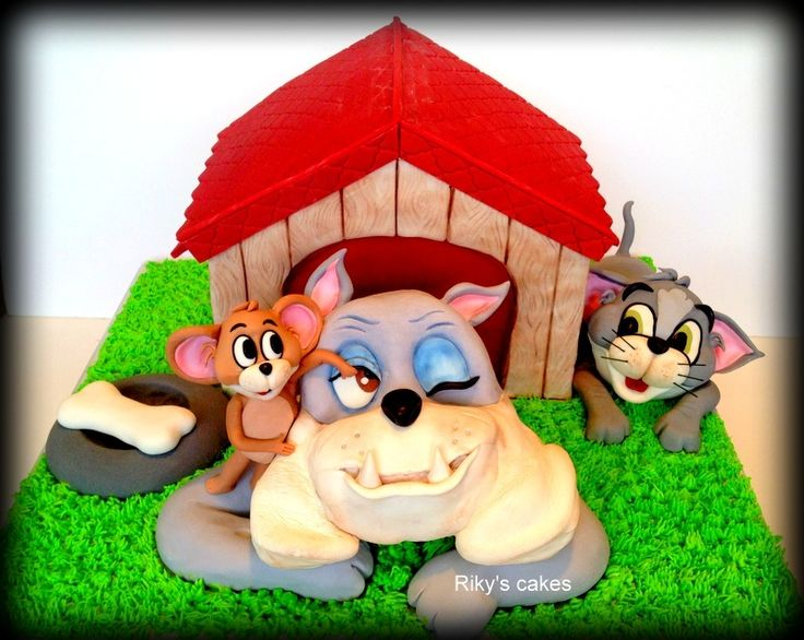 139 best Cakes Tom Jerry images on Pinterest Tom and jerry