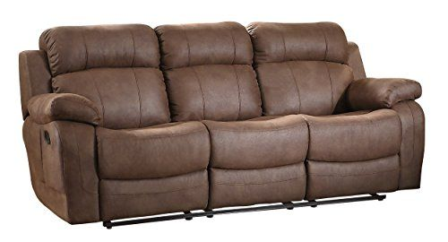Homelegance 9724DBR-3 Transitional Textured Brown Bonded Leather Reclining Sofa w/ Center Drop Down Cup Holder https://swivelreclinerchairreview.info/homelegance-9724dbr-3-transitional-textured-brown-bonded-leather-reclining-sofa-w-center-drop-down-cup-holder/