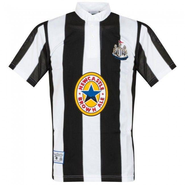 Score Draw Official Retro Newcastle Camiseta para Hombre