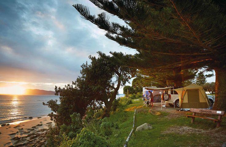 north coast camping. Photo: Nick-Cubbin-OEH