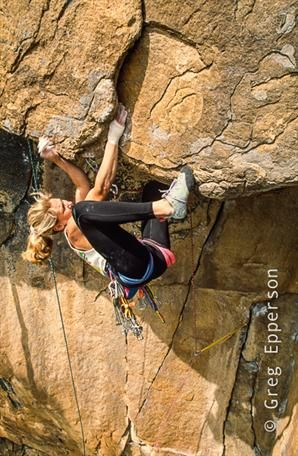 Greg Epperson: Women of Climbing | ROCK and ICE Magazine