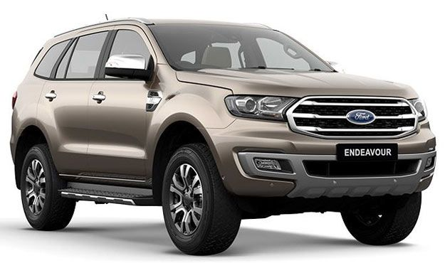 Ford Endeavour 2019 Launched In India In 2020 Ford Endeavour