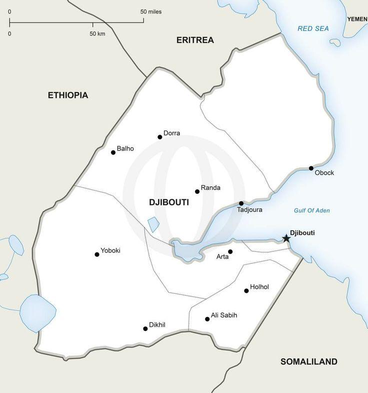 Best Djibouti Map Ideas On Pinterest Djibouti Capital Horn - Djibouti maps with countries