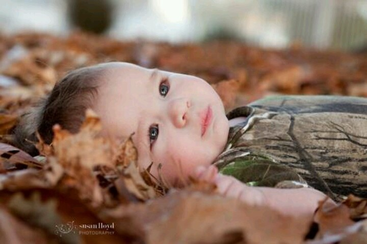 Camo Baby Photography