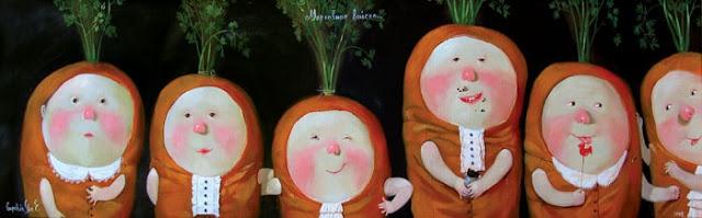 Ukrainian artist,children's boook illustration by Gapchinska