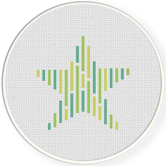 FREE for March 30th 2017 Only - Twinkle Star Cross Stitch Pattern