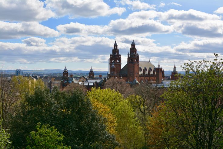 If you're visiting Scotland don't skip Glasgow! I found it to be a vibrant cities with great museums shops food and nightlife.