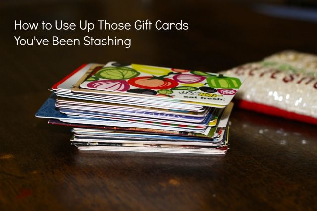 Do you have a little stockpile of gift cards you've been saving from birthdays, Christmases, and other holidays? Click for smart tips on how to use up gift card balances to save money!