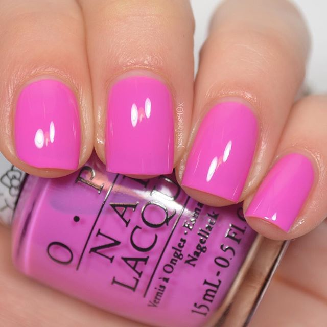 """opi""""Super Cute In Pink"""" from the Hello Kitty collection"""