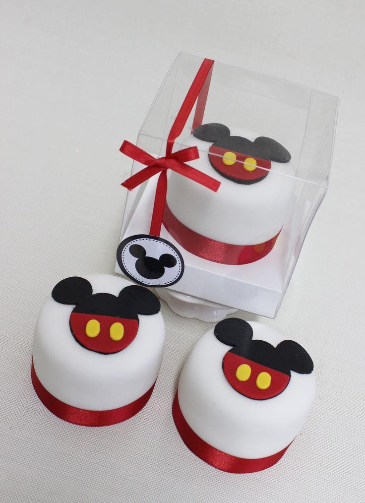 Mickey Mouse Minicake Souvenir  Violeta Glace