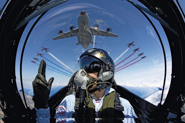 Armée de l'air: les chevaliers du ciel, les vrais ! #PatrouilleDeFrance