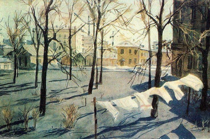 Alexander Deineka (1899 — 1969, Russia)