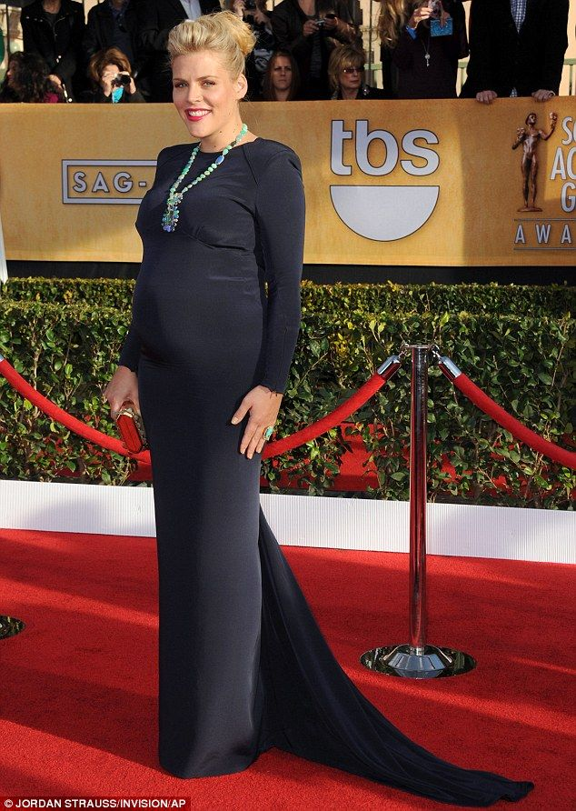 Busy Philipps, pregnancy style
