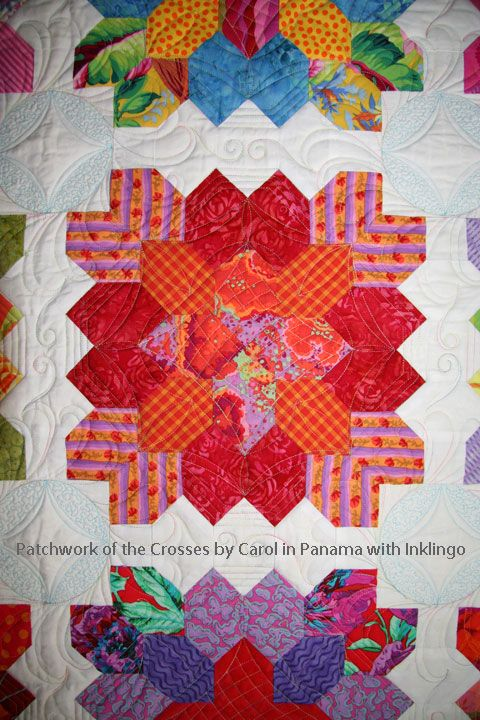 Patchwork of the Crosses by Carol in Panama with Inklingo