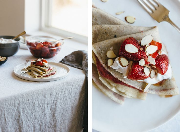 Mother's Day brunch is a must. Instead of going out this year, consider making her day even more special with this homemade (and healthy!) crepe recipe from our