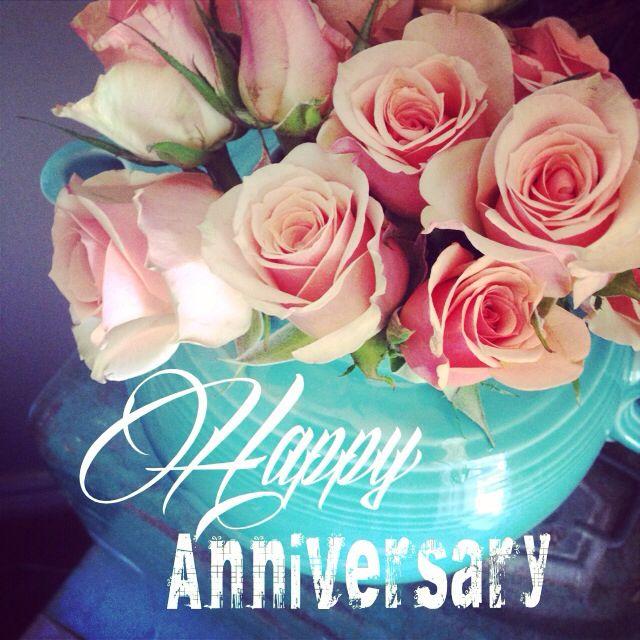 happy anniversary flowers make a beautiful card always