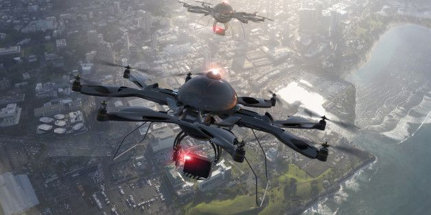 Drones and Technology Convergence
