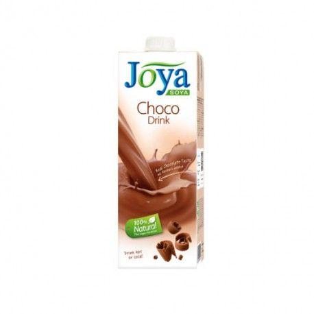 Čokoládový, krémový a osviežujúci zároveň? Áno, môže byť. To je presne to, ako JOYA čokoládový nápoj chutí. A pretože kakao bolo považované za dar bohov z čias Aztékov, vynaložili sme veľké úsilie na prípravu tohot nápoja.  Zloženie: sójový základ 91% (voda, sójové bôby 7,6%), repný cukor, nízkotučné kakao 1%, čokoláda 0,8% (kakaová hmota, cukor), soľ, zahusťovadlo: guarová guma.