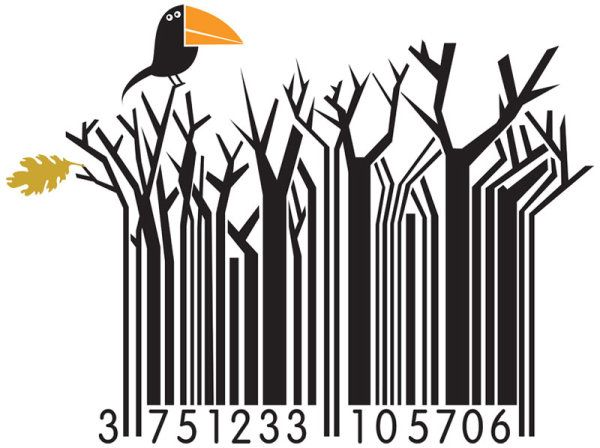 Unbelievably Cool Barcode designs   TechSportz
