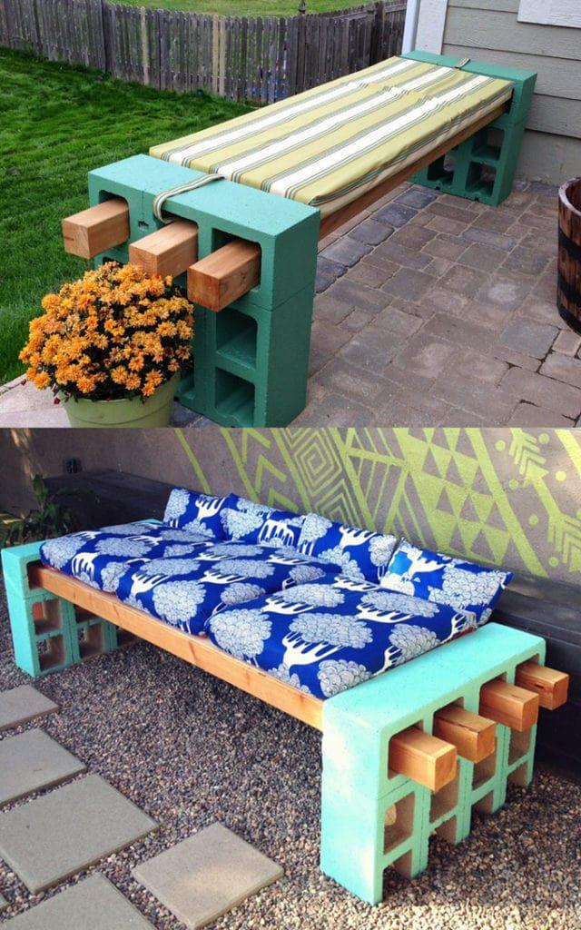 Amalfi Bench Diy Garden Furniture Decor Outdoor Decor