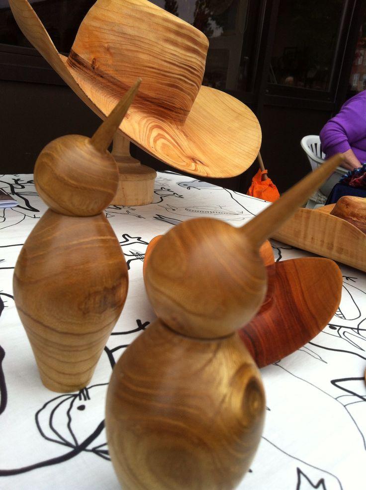 Træskærearbejde på museet i Haderslev