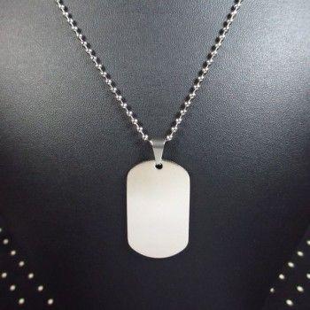 Fiche produit du collier militaire
