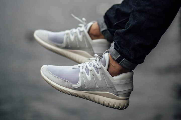 Marble Accents Appear on The Sole Of The adidas Originals Tubular