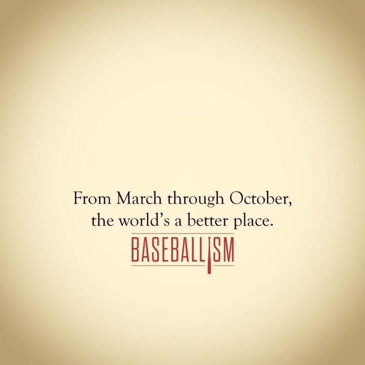 Baseball season is love