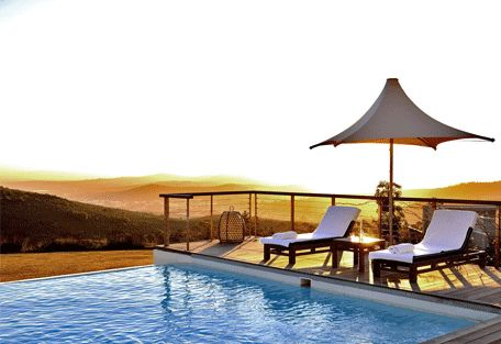 www.sunsafaris.com #Delaire #Graff #Lodge #exterior #winelands #stellenbosch #pool