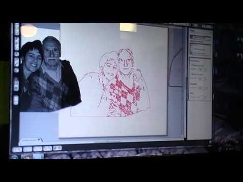 Removing Background Noise & Texture To Trace in Cameo - YouTube