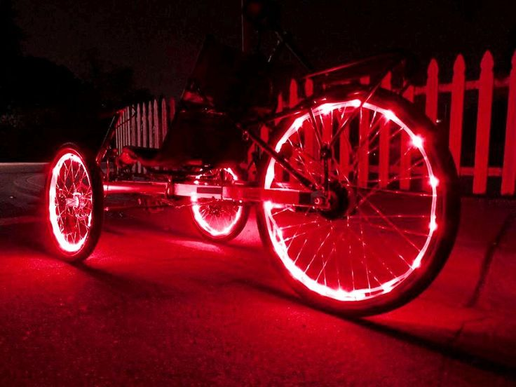 "- Colorful LED Bicycle Wheel Lights - Fits most rims up to 29""/700c - Includes 1 wheel w/ 20 super bright LEDs - Waterproof and shock resistant - Visible from over 2,000 feet away"