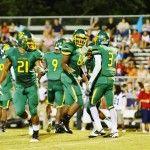 Pine Forest versus Terry Sanford High School Football
