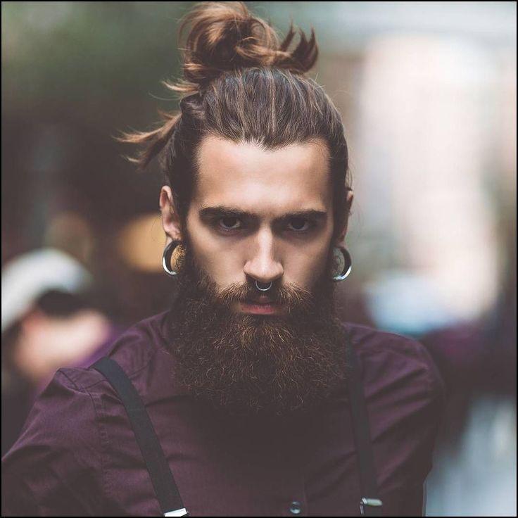Langhaarmodelle - Lange Haare und dicke Bärte für Männer
