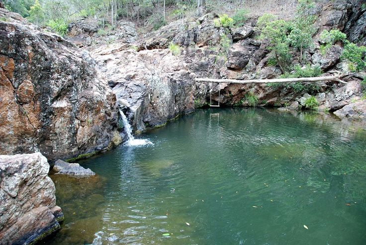 Voted one of the BEST natural attraction near Brisbane, Rocky Hole is a gorgeous natural swimming hole in the D'Aguilar National Park CLICK HERE to see it for yourself!