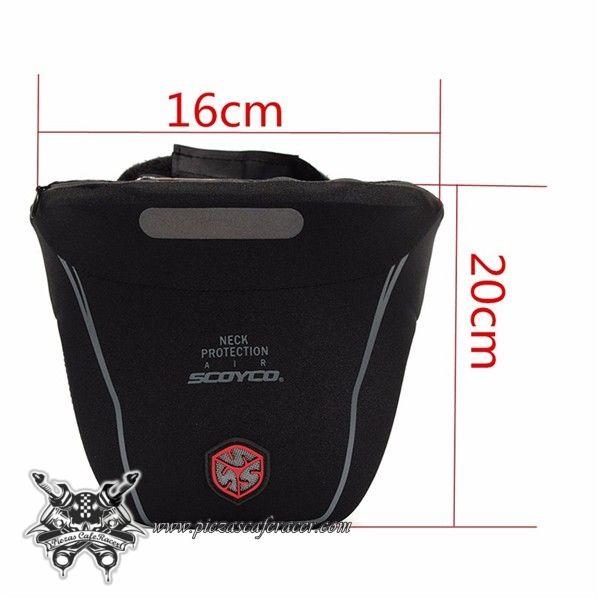 """Collarín Protector de Cuello Modelo """"SCOY1"""" Para Moto con Protector Cervical Integral Color Negro - 36,89€ - ENVÍO GRATUITO EN TODOS LOS PEDIDOS"""