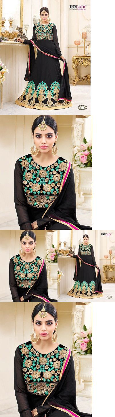Salwar Kameez 155249: Indian Designer Women Salwar Kameez Wedding Pakistani New Salwar Suit Us 9116 -> BUY IT NOW ONLY: $85 on eBay!