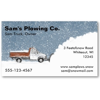 Best Snow Plow Business Images On   Free Stencils